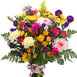 Send Online Mixed Flower Bouquet