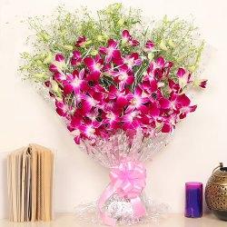 Joyful Paradise Orchid Stems Arrangement