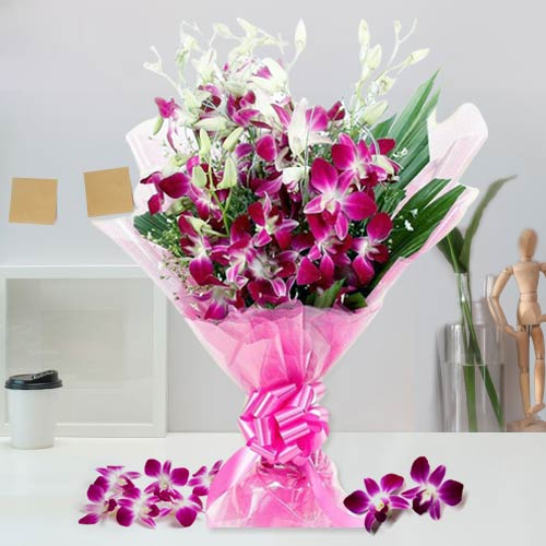 Book Online Orchids Bouquet