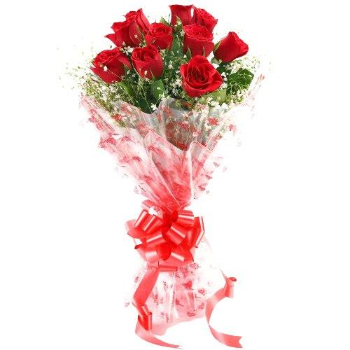 Deliver Red Rose Bouquet Online