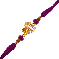 Auspicious Present of 1 Decorative Shree Rakhi