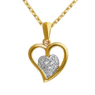 Stylish Looking Heart Shaped Pendant