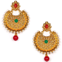 Dazzling Wedding Special Earring Set