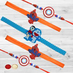Auspicious Five Rakhis for Children