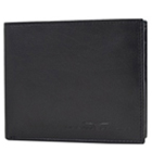 Charismatic Gents Wallet in Black Made of Pure Leather from Urban Forest
