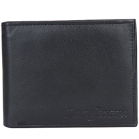 Super Exquisite Gents Leather Wallet from Longhorn in Black