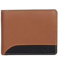 Exclusive Brown Coloured Gents Leather Wallet Presented by Longhorn