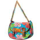 Appealing Flower Power Messenger Bag Made by Avon