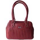 Snazzy Peach Ladies Leather Handbag from Rich Born