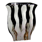 Amazing Silver finish Flower vase