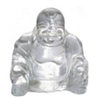 Feng Shui Crystal Laughing Buddha Gift