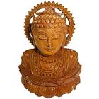 Beautiful Wooden Handicraft of Lord Buddha