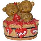 Fun Loving Twin Teddy with a Heart