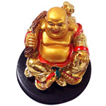 Graceful Laughing Buddha Showpiece