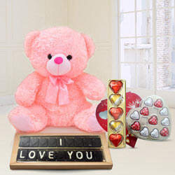 Amazing Best Forever I Love You Chocolates Gift Hamper