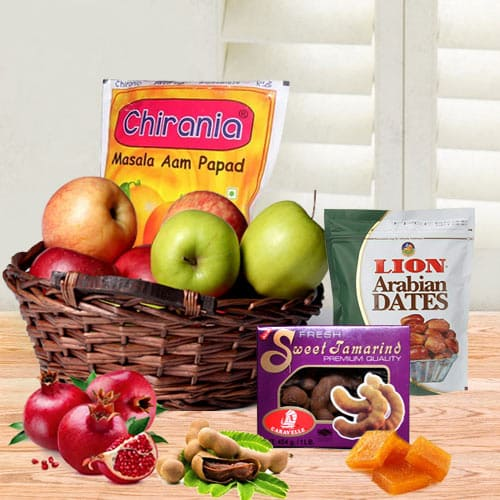 Magical Seasons Fiesta Fruit Gift Basket