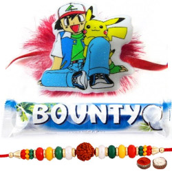 Significant Bhaiya Rakhi, Pokemon Kid Rakhi, Bounty Chocolate