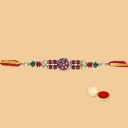 Attractive Rakhi and Glaring Carve