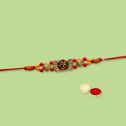 Mind-Blowing Collection of Stone Studded Rakhi