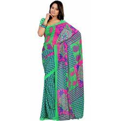Exquisite Enhancement Chiffon Saree