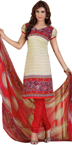 Classic Siya Collection of Crepe N Chiffon Salwar Suit