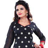 Elegant New Collection of Printed Black Cotton Salwar