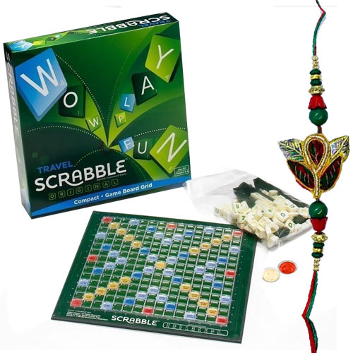 Scrabble �The Word Game with Rakhi and Roli Tilak Chawal