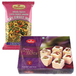 Mix Dry Fruit and Soan Papdi