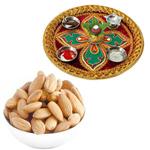 Diwali Thali with Almonds