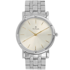 Enthralling Water Resistant Gents Watch From Titan in Golden Colour to Civil Lines