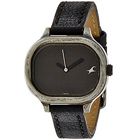 Scintillating Fastrack Watch for Women in Black Dial to Rohini